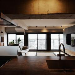 キッチン/眺望/窓/マンション/フローリング/LDK/...