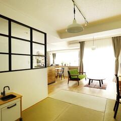 室内窓/畳/マンション/採光/風通し