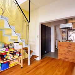 階段/リビング階段/グレーチング/キッチン/壁式RC構造/キッチンカウンター/...