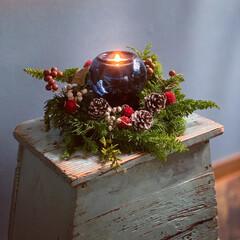 キャンドル/スワッグ/クリスマスリース/IKEA/クリスマス2019/リミアの冬暮らし/... いよいよイヴまで5日🎄 みなさん盛り上が…