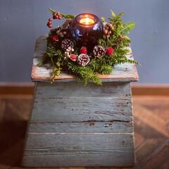 キャンドル/スワッグ/クリスマスリース/IKEA/クリスマス2019/リミアの冬暮らし/... いよいよイヴまで5日🎄 みなさん盛り上が…(2枚目)