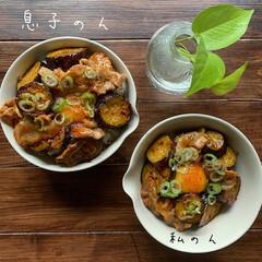 家庭料理/どんぶり/お昼ごはん/LIMIAごはんクラブ/住まい/暮らし 2019.12.2 月曜日 今日のお昼ご…