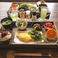 レトロ食器/LIMIAごはんクラブ/わたしのごはん/おうちごはんクラブ/グルメ/フード/... 今日のお昼ごはんは 炊きたての白いごはん…