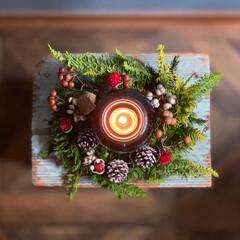 キャンドル/スワッグ/クリスマスリース/IKEA/クリスマス2019/リミアの冬暮らし/... いよいよイヴまで5日🎄 みなさん盛り上が…(3枚目)