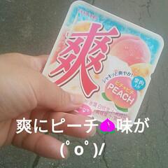 桃🍑/爽/アイス お風呂上がりに食べた(*´∀`) 爽のピ…