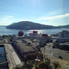 おでかけワンショット/写真/鳥羽/港/海/三重県観光地 三重県の鳥羽の光景です。鳥羽駅周辺から海…