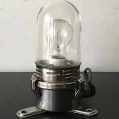 アトリエランプ/カプセルランプ/フランスヴィンテージランプ/インダストリアルランプ/工業系照明/ウォールランプ/... フランスにて買付ました少し珍しい形状のウ…