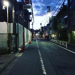 青山周辺/帰り道/夏の夕暮れ/夏/おでかけ 仕事帰りの夏の夕暮れ時。 夏の夕暮れは綺…