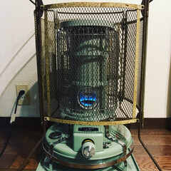 アラジン ブルーフレームヒーター グリーン BF3911-G 対流型 石油ストーブ 木造7畳 コンクリート10畳 | アラジン(電気ストーブ)を使ったクチコミ「アラジンブルーフレームの出番がやって来た!」