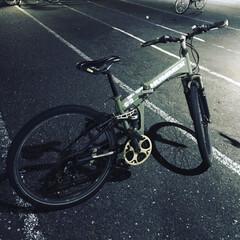 通勤/マウンテンバイク/自転車/秋 8年間東京通勤で使ってる自転車。 メンテ…