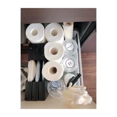 収納/キッチン収納/キッチン雑貨/掃除 キッチンシンクの引き出し収納。  シンク…(3枚目)