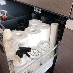 収納/キッチン収納/キッチン雑貨/掃除 キッチンシンクの引き出し収納。  シンク…(2枚目)