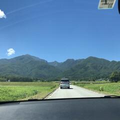 旅行 夏の景色