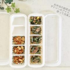 冷凍庫収納/100均/節約/ダイソー/簡単/ラク家事/... お弁当のおかず(副菜)は 多めに作った夕…