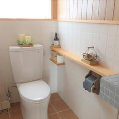 私の家のここが好き/私の家/ここが好き/家づくり/トイレ/インテリア/... トイレ画像で失礼します。 保温もシャワー…