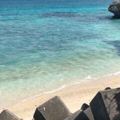 旅/トラベル/南の島/沖縄/宮古ブルー/宮古島/... 今日の海、第3段。 暑くはないけれど陽ざ…