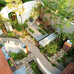 ESTINA/エスティナ/ガーデン/外構/エクステリア/庭/... 新しさの中に思い出を織り交ぜて楽しむお庭…