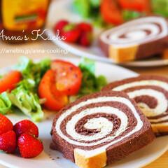 パン/ココア/ドイツ/料理研究家/アンナのキッチン/わたしのごはん ドイツで焼くふわふわ手作りうずまきパン♪…