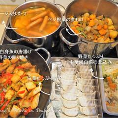 作り置き/常備菜/簡単レシピ/時短/料理研究家/アンナのキッチン/... 一週間分の作り置きです♪ ★ソーセージ入…