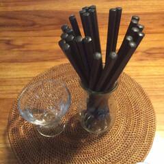 ニトリ ニトリの樹脂の箸 いわゆる業務用の箸かな…