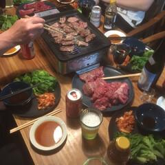 焼肉プレート/焼肉/ステイホーム/ステイホームを楽しむ/夕食/夕飯 ステイホームを楽しむ 昨日は家で焼肉プレ…