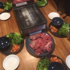 焼肉プレート/焼肉/ステイホーム/ステイホームを楽しむ/夕食/夕飯 ステイホームを楽しむ 昨日は家で焼肉プレ…(2枚目)