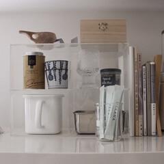 持ち手付きストッカー 角型 ホワイト 1.2L | 野田琺瑯(その他キッチン、台所用品)を使ったクチコミ「野田琺瑯の取手付き容器。以前はお味噌入れ…」(1枚目)