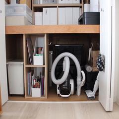 パナソニック サイクロン掃除機 ショコラホワイト MC-SR24J-W(掃除機)を使ったクチコミ「我が家の収納スペースは全て押入れタイプな…」