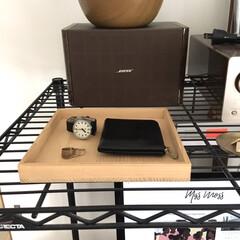 小物収納/暮らし/財布/収納/腕時計収納 腕時計やお財布などの小物入れとして使って…