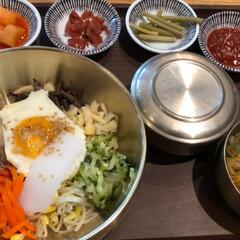ピビンバ定食とトッカルビ定食/ワッフル/チーズタッカルビ/優しい姪っ子/韓国旅行 3泊4日の韓国旅行*⋆✈から帰って来まし…(4枚目)
