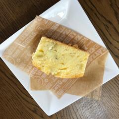 ペット/犬/スイーツ/DIY/住まい 今日は、サツマイモのパウンドケーキ焼きま…