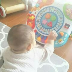 子育て/姉妹/日常/収納/おもちゃ/子供 子供の遊び場として使ってるダイニング。毎…(5枚目)