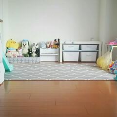 子育て/姉妹/日常/収納/おもちゃ/子供 子供の遊び場として使ってるダイニング。毎…(3枚目)