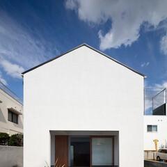 建築/住まい/シンプル住宅/ミニマルデザイン/建築デザイン レコード棚のある家 OUCHI-43  …