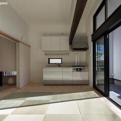 二世帯住宅/デザイン住宅/建築家住宅/OUCHI-40/建築家と建てる家/建築家と建てた家 石川淳建築設計事務所で設計したシンプルデ…