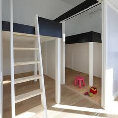 建築/住まい/建築デザイン/注文住宅/シンプル住宅 子供室 造作ベッド ハコノオウチ13(1枚目)