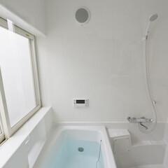 建築/住まい/ハーフユニットバス/OUCHI-40/浴室/建築家と作る家 光庭のあるハーフユニットバスの浴室  2…