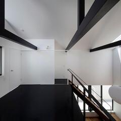 建築/住まい/吹抜/建築デザイン 2階寝室 OUCHI-43