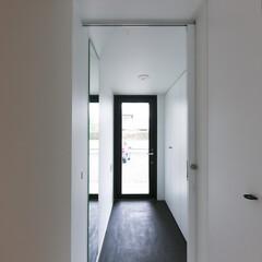 建築/住まい/建築デザイン/シンプル住宅/猫と住む家/猫と暮らす家/... 猫脱走防止対策玄関 ハコノオウチ15  …