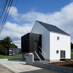 建築/住まい/建築デザイン/シンプル住宅/注文住宅 積み木のような外観 OUCHI-27