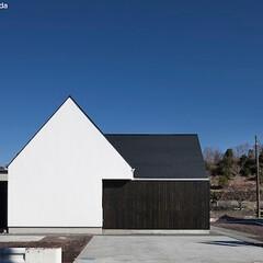 建築/住まい/平屋/シンプル住宅/不動産・住宅/注文住宅/... 中庭のある平屋デザインの家 (静岡)  …