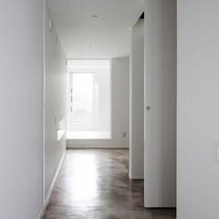建築/住まい/建築デザイン/シンプル住宅/注文住宅 1階はモルタル床  OUCHI-21 さ…