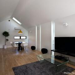 建築/住まい/建築デザイン/シンプル住宅/注文住宅 おひこしごのリビング   OUCHI-19