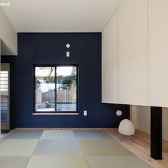 二世帯住宅/デザイン住宅/建築家住宅/OUCHI-40/自由設計/和室/... 石川淳建築設計事務所で設計したシンプルデ…