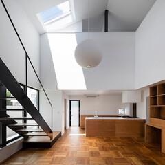 建築/住まい/リビング階段/建築デザイン リビング階段 OUCHI-43