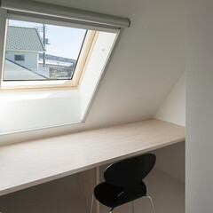 建築/住まい/小屋裏部屋/書斎 小屋裏の書斎