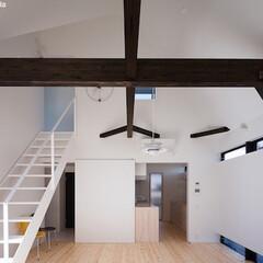 建築/住まい/リビング/注文住宅/OUCHI-41/建築家と建てた家/... 平屋デザインの家 というタイトルの家です…