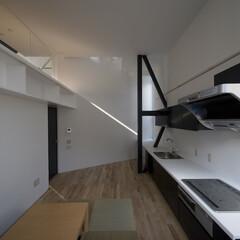 建築/住まい/建築家と建てる家/建築家と建てた家/二世帯住宅/リビング/... 1階親世帯リビング