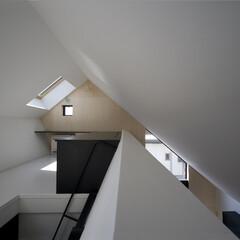 建築/住まい/建築家と建てる家/建築家と建てた家/二世帯住宅/予備室/... 梯子を上がったリビングダイニングと繋がる…