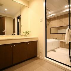 バス/マンション/リノベーション/スケルトン ホテルライクなバスルームにリノベーション